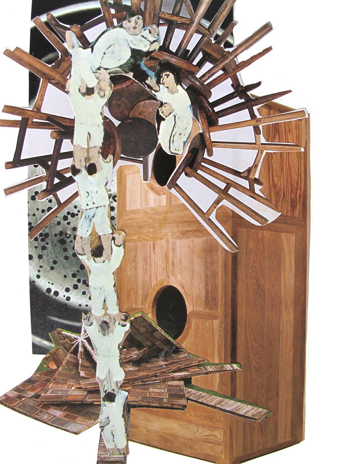 Modernismo Anacronico Collage #6