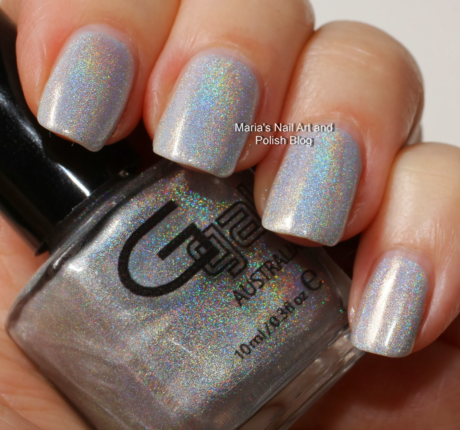 Marias Nail Art and Polish Blog: Glitter Gal holo swatches ...