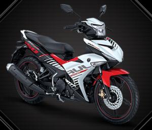 Motor Yamaha Jupiter MX King 150 - Warna Speedy White