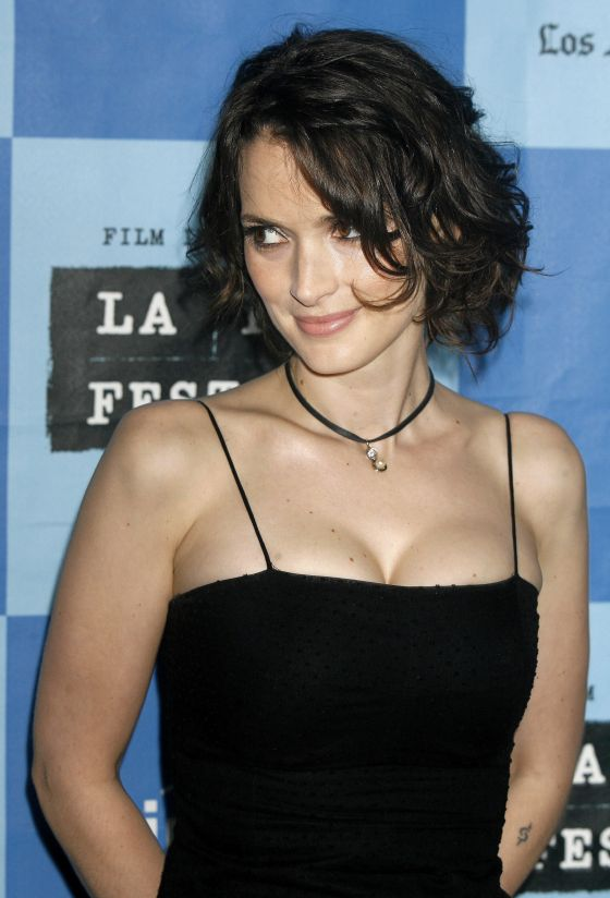 Chatter Busy Winona Ryder Breast Implants