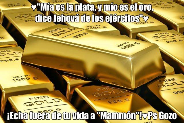 Resultado de imagen para mia es la plata y mio el oro