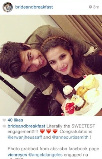 Anne Curtis and Erwan Heusaff are engaged