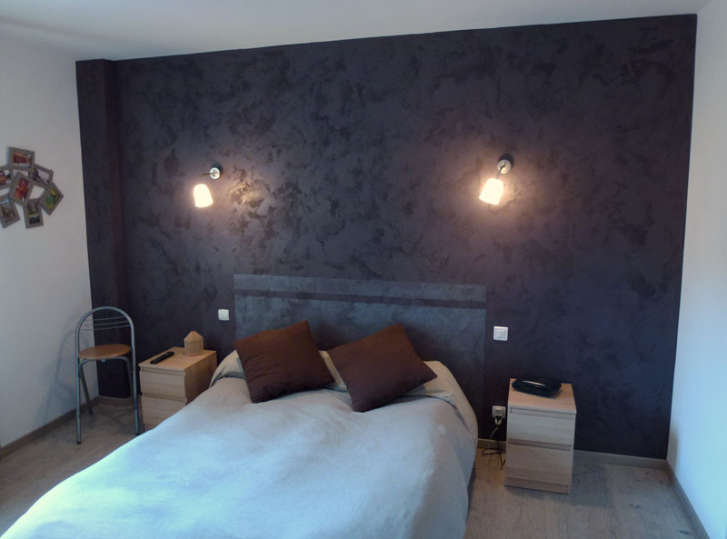peinture paillete pour chambre trendy paillettes pour peinture murale u versailles with. Black Bedroom Furniture Sets. Home Design Ideas