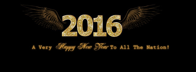 Happy New Year 2016 FB Cover