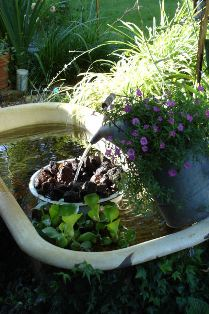 Bathroom city 5 uses for your unwanted bathtub for Garden pool from bathtub