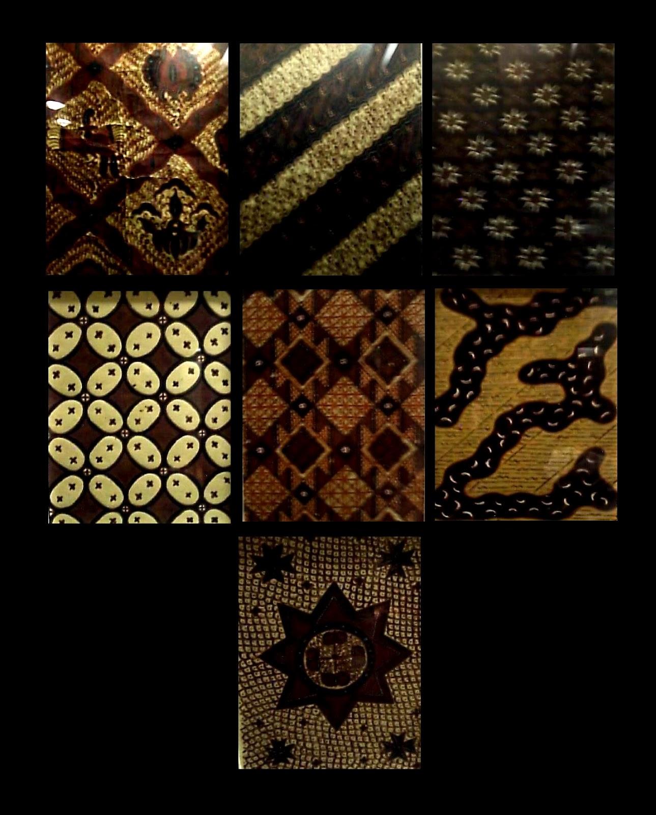 International Batik Center: Motif batik geometris