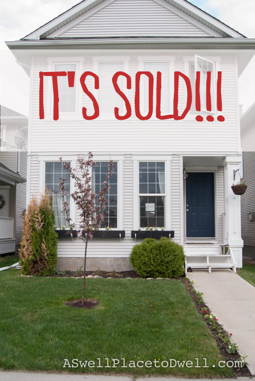 Our House is Sold!