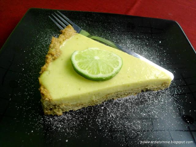 tarta limonkowa dietetyczna
