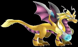 imagen del dragon rayo de luz de dragon city
