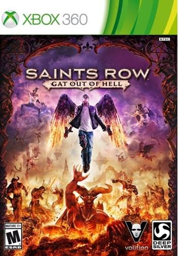 Saints Row Gat out of Hell XBOX 360 Español Region Free