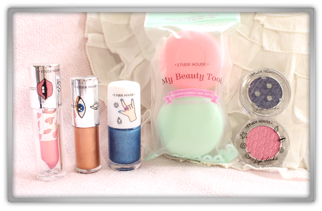 Cosmetic Love Etude House BLING ME PRISM More Haul review beauty blogger  eyes liquid lips play nail makeup macaron