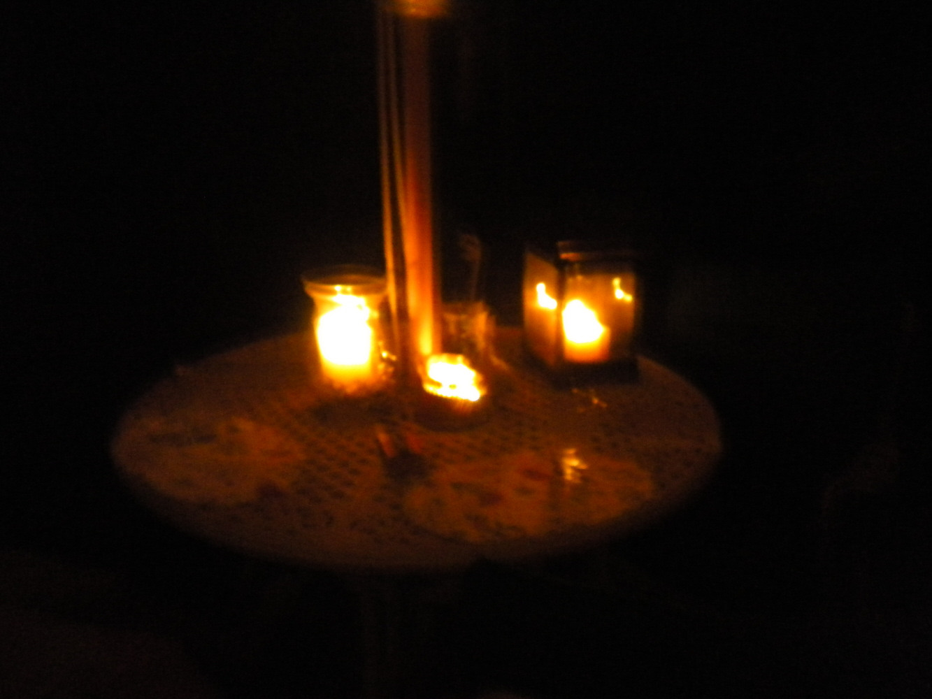 The Moon Was Coming Out Behind The Clouds But My Camera Wonu0027t Take Really  Good Night Pictures So I Donu0027t Have Any Picture Of That. Here Are Some  Candle ...