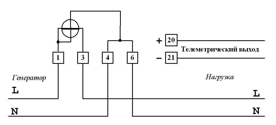 4) Схема подключения