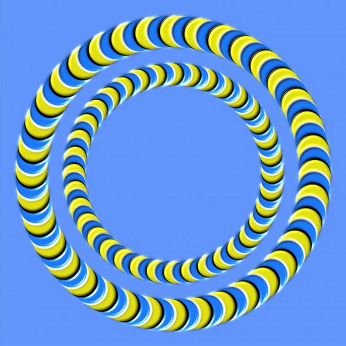 8 Ilusiones Opticas que se mueven solas - Identi