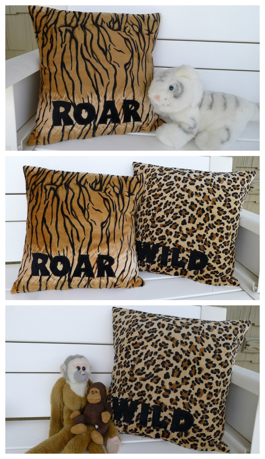 Pieces by Polly: DIY Animal Cuddle Pillows