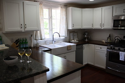 Here Are Some Preview Pics Of Our Kitchen After The Countertops Were Installed And In Its Almost Finished State