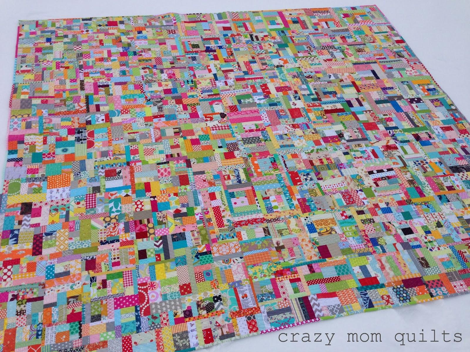 Crazy Mom Quilts Scrap Vortex