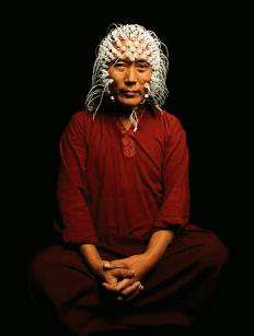 قياس النشاط الدماغي لبوذي أثناء استغراقه في التأمل