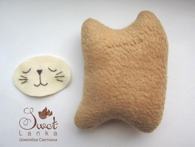 игрушка кот МК