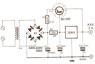 wiring circuit deriving high current from 7805 7812 voltage rh wiringchematic blogspot com