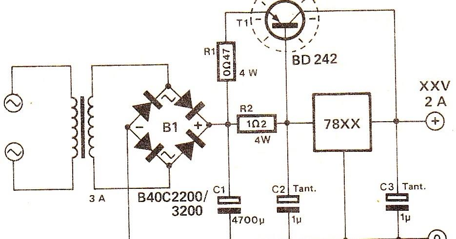 deriving high current from 7805 7812 voltage regulator power supply rh autonomia co Internal Diagram of AC Voltage Regulator 12 Volt Regulator Circuit Diagram
