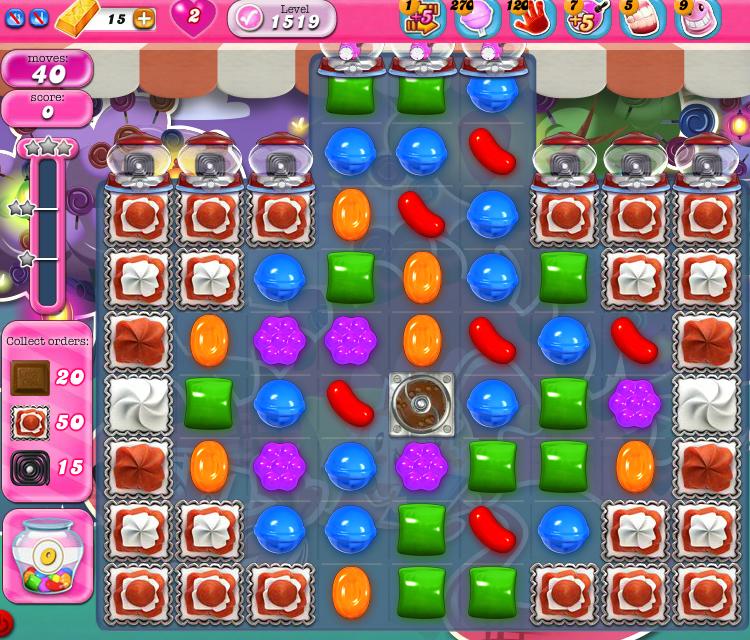 Candy Crush Saga 1519