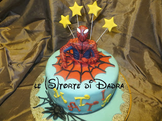 spiderman cake per mattia...