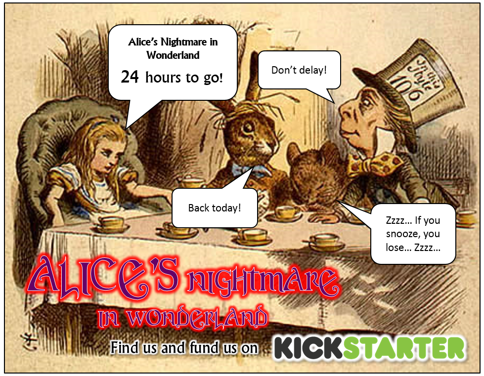 Jonathan Green Author Alices Nightmare In Wonderland 24 Hours