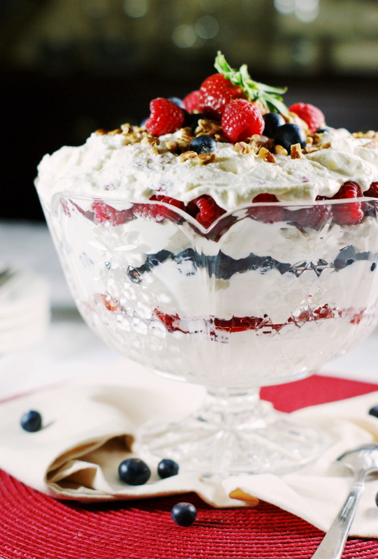 Punch bowl fruit cake recipe