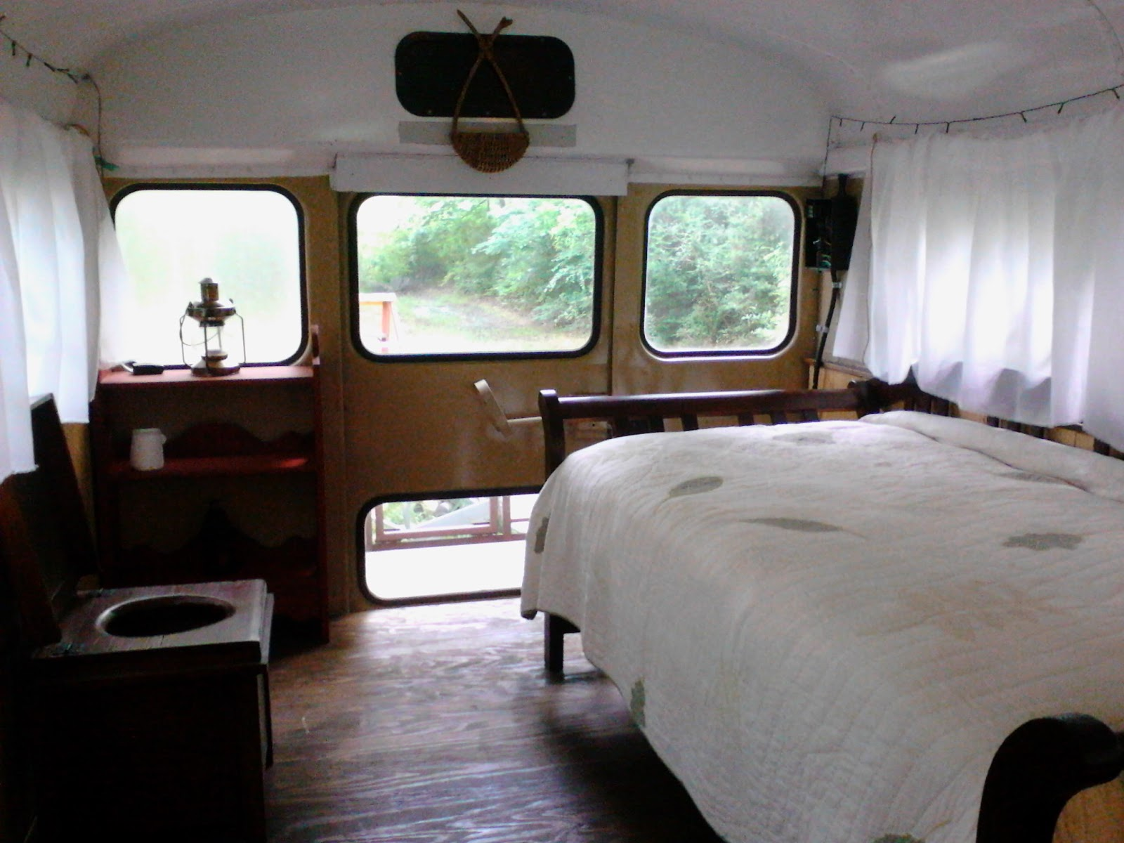 I Prefer Rustic And Vintage Over Fancy Or Modern Wanted My Bus To Look Like A Not RV It Feel Tiny Home
