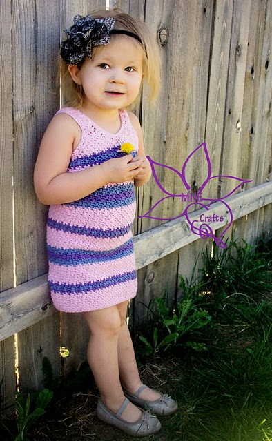 free crochet pattern child spring dress