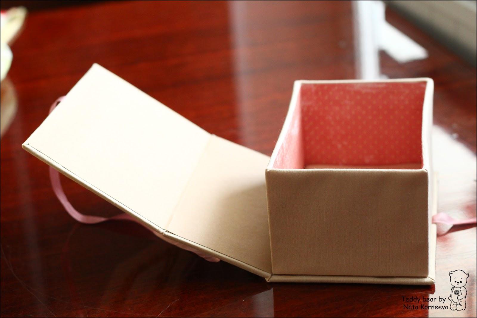 Бархатные коробочки своими руками коробочек