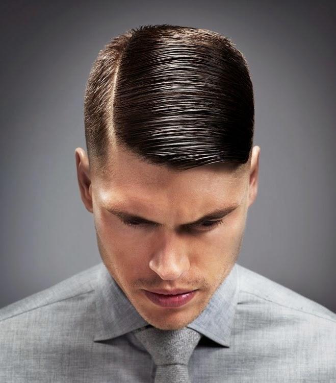 Gaya Rambut Buat Para Pria Terbaru Menggunakan Pomade - Gaya rambut old school pendek