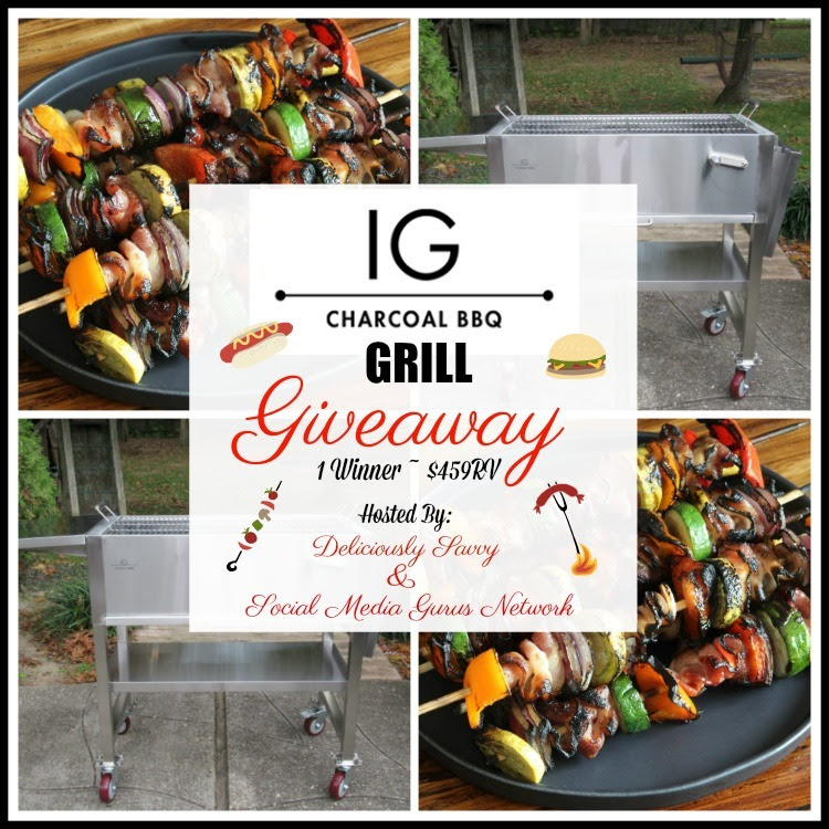 IG Charcoal BBQ Giveaway