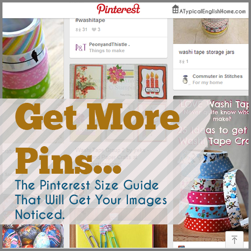 pinterest size guide
