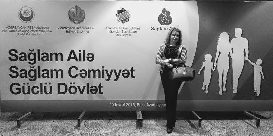 """""""SAĞLAM AİLƏ, SAĞLAM CƏMİYYƏT – GÜCLÜ DÖVLƏT"""" ADLI KONFRANS"""