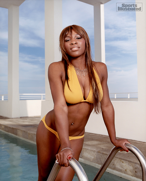 Serena Williams Bathing Suit Mishap http://www.frugalflirtynfab.com/2011/06/black-is-beautiful-swimwear-edition.html