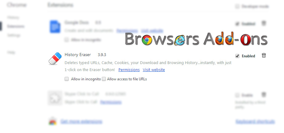 how to program chrome add ons