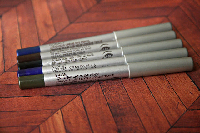 Laura Mercier Line & Define Mini Long wear Creme Eye Pencil Collection Review, Photos & Swatches