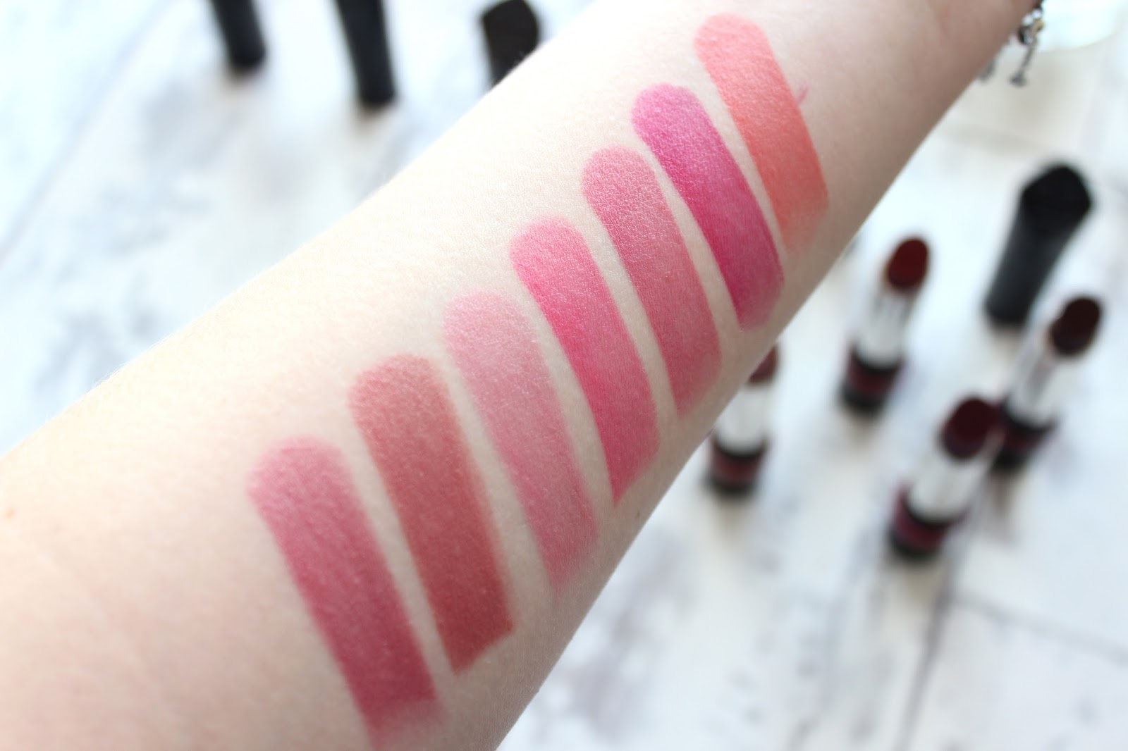 Rimmel The Only One Lipsticks And Swatches