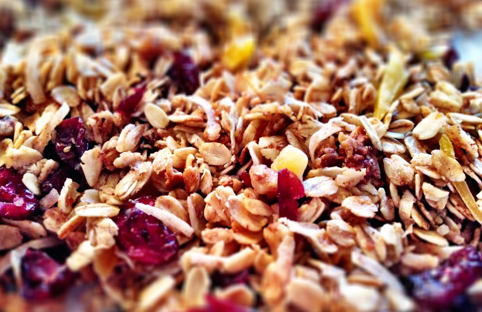 Homemade Crock-pot Granola from Jen Haugen, Down-to-Earth Dietitian