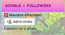 Followers List is Priavate