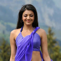 Kajal agarwal latest hot stills in saree collections
