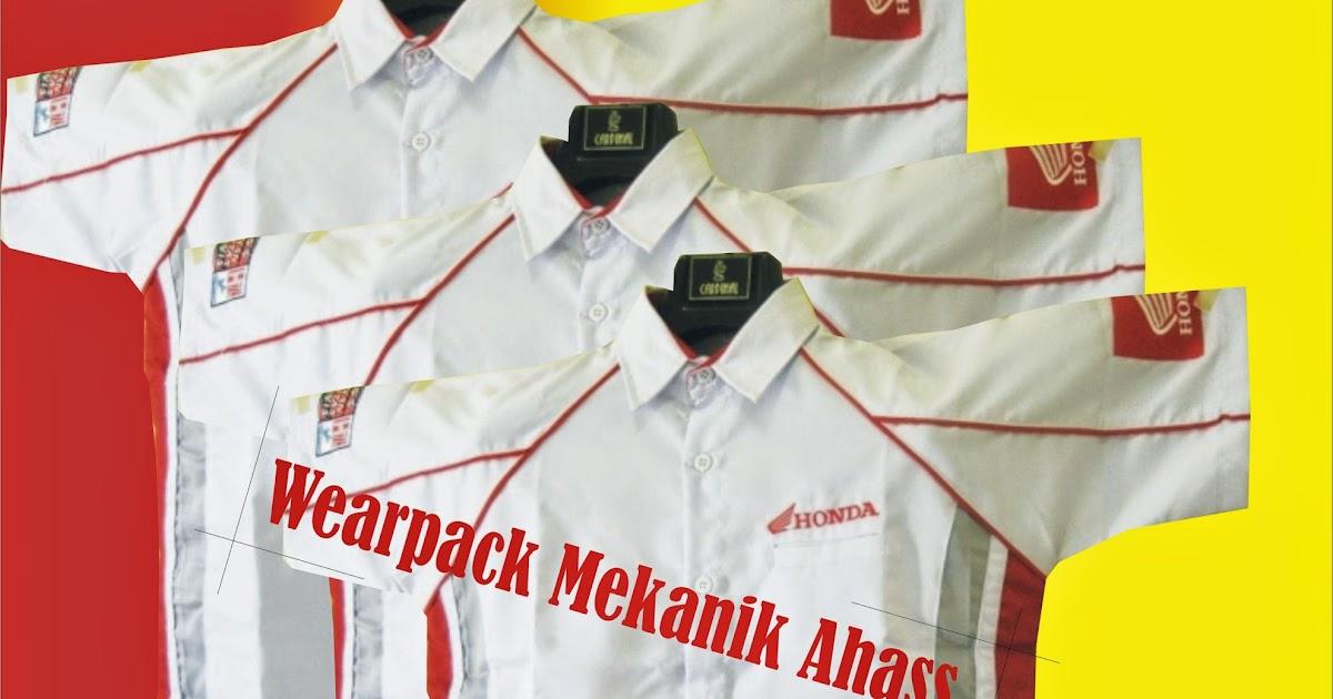 seragam baju mekanik: Bengkel Motor AHASS-Bengkel Resmi Sepeda Motor ...