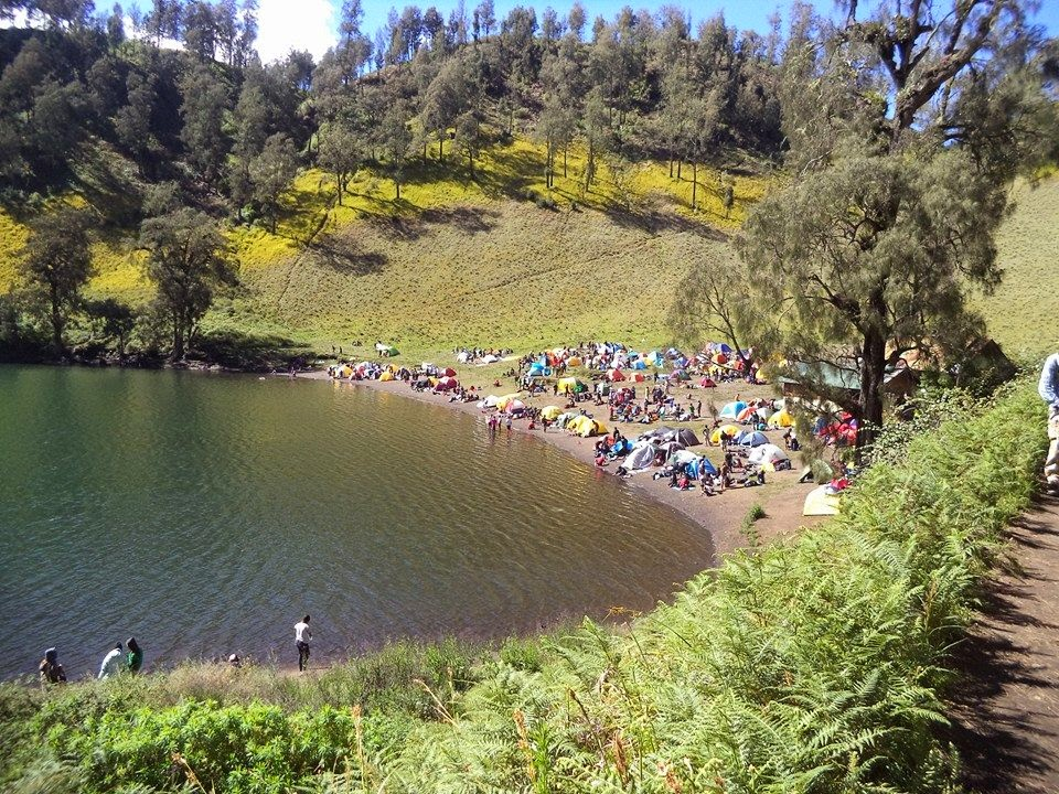 Danau Ranu Kumbolo Semeru
