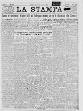 LA STAMPA 23 NOVEMBRE 1920