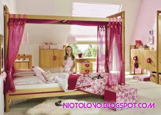 model cantik untuk kamar tidur anak niotolovo