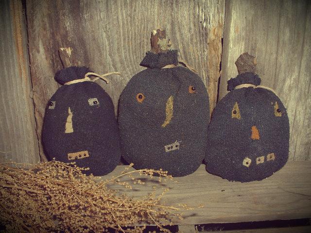 primitive halloween decor Daughternature Primitive Folk Art: Primitive Fall
