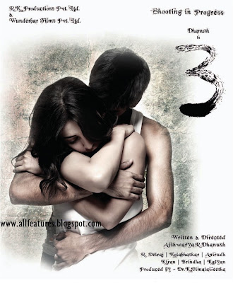 AND SRUTHI HAASAN NEW SOUTH TAMIL AND TELUGU FILM 3 MOVIE WALLPAPERS