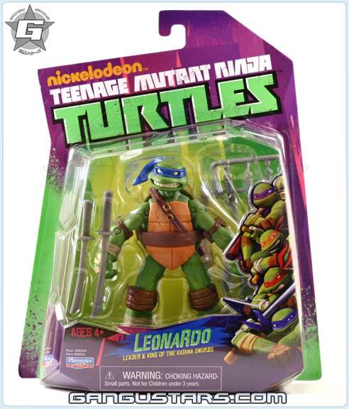Nickelodeon Leonardo TMNT Ninja Turtles playmates comic action figures